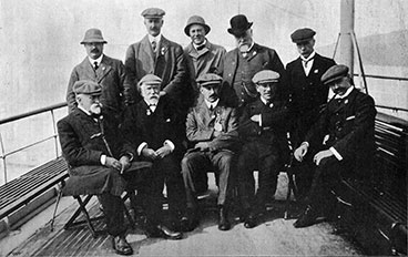 Group image of the Directors of the Benevolent Institution 1902
