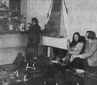Interior view of the Bon Accord 1971.