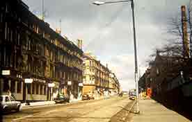 Byres Road with the Chancellor.