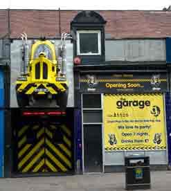 The Garage night Club Sauchiehall Street