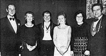 image of the Gorbals Ward with Michael J Heraghty and others 1972