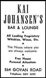 Kai Johansen's Advert