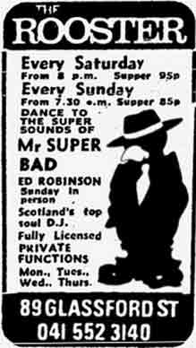Rooster advert 1975