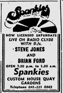 Spankies advert 1975