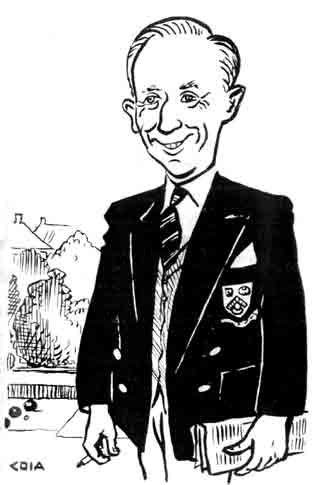 Mr Thomas Flynn cartoon