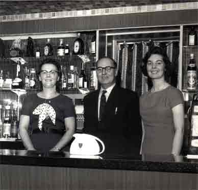 Tron Bar interior