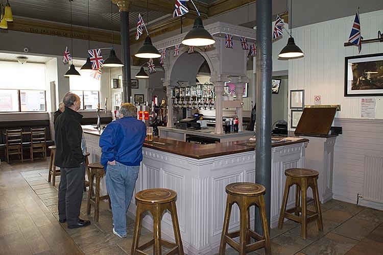 The Union Bar Paisley Road interior 2016