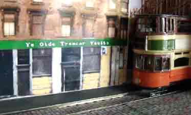 Ye Olde Tramcar Vaults tram