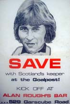 Alan Rough Advert