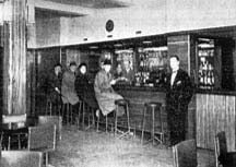 Interior of the Albert Bar