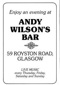 Wilson Advert
