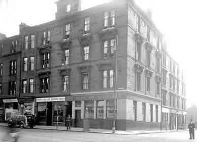 Archibald Barr's premises Gallowgate
