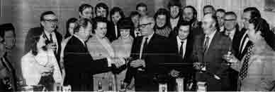 Arthur Bell & Sons tasting group image 1974