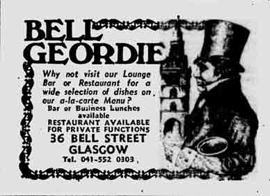 Bell Geordie advert 1978