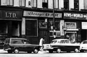 Benny's Bar 62 Gorbals Street
