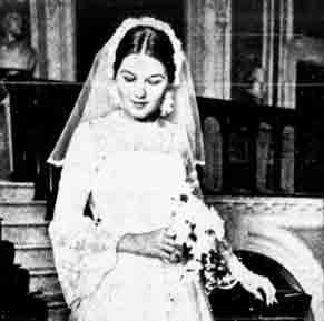 Lynda Ferguson wedding 1978
