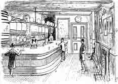 Interior view of the Carlton Vintners Company