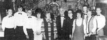 Image of manager of the Centaur Mr H Ryan and members of staff in 1971