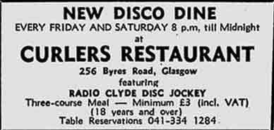 Curlers advert 1978