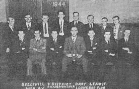 Darts in the Lorne Bar Bellshill