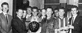 Dart team Citizens Bar Gorbals 1967