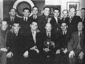Darts team of the Station Hotel Alloa