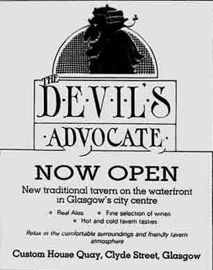 Devils Advocate advert 1983