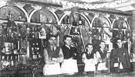 Interior view of the Dunrobin Bar
