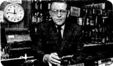 Edward Shaw landlord of the Forum 1978