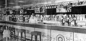 Main Bar in the Garfield Hotel