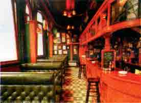Interior view of the Griffin 1980s