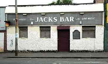 exterior view of Jack's Bar 2005
