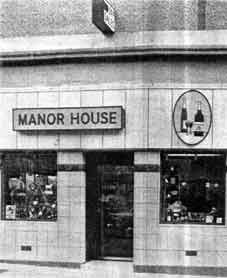 Exterior of the Manor House