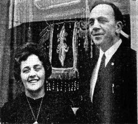 Mr & Mrs James Davidson 1970