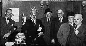 John E Jackson with friends