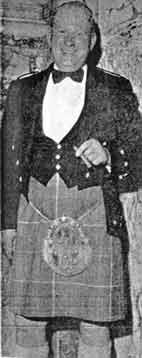 John Jackson with kilt