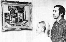 Mrs and Mr John Furlong 1971