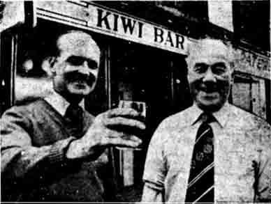Kiwi closes down 1976