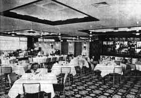 Lanarkshire House dining room