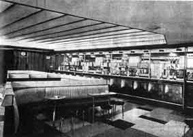 The Public Bar at Lanarkshire House