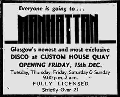 Manhattan advert 1978