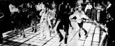 The Mayfair dance floor 1979