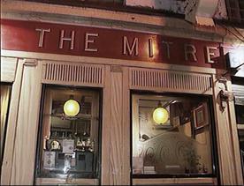 Mitre Bar window