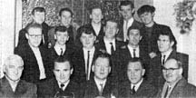 Molls Mire darts team 1965.