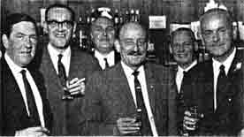 Interior of Morrison's Bar Cambuslang 1968