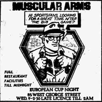 Muscular Arms Advert 1970