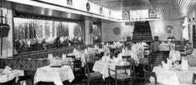 The Neuk dining area