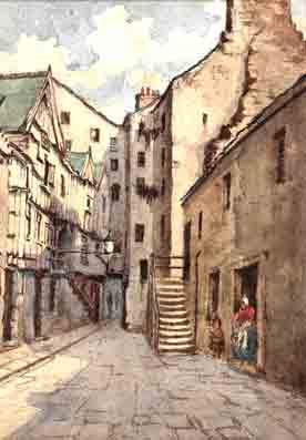 Nightingale Tavern Saltmarket