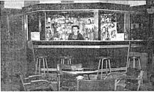Straw House interior