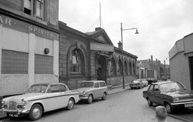 Old Canteen Bar with Lambert Street 1960s